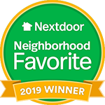 Nextdoor 2019 Winner Badge