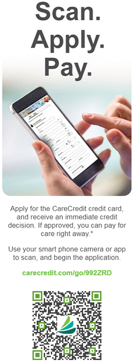 CareCredit Application QR Code